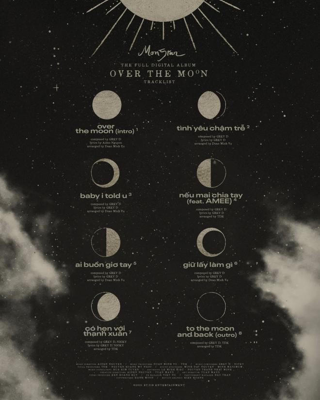 Monstar, nhóm nhạc Monstar tan rã, Monstar tan rã, Monstar thành viên, Monstar fan club, Monstar là nhóm nhạc nào, album Over The Moon, nghe album Over The Moon
