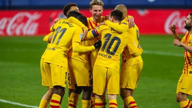 Osasuna vs Barcelona, kết quả La Liga, BXH La Liga