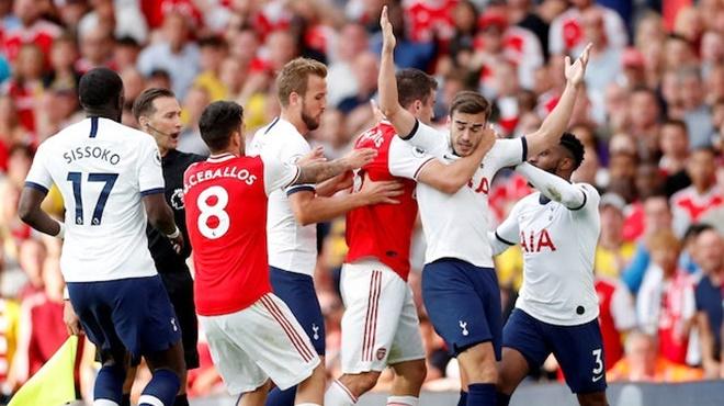 Trực tiếp bóng đá. Tottenham vs Arsenal. Trực tiếp bóng đá Anh. K+, K+PM trực tiếp