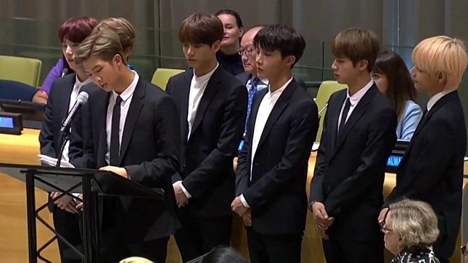 VIDEO: Bài phát biểu của BTS tại Liên Hợp Quốc