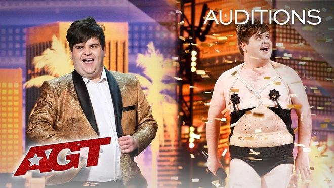 VIDEO: Điều gì xảy ra với thí sinh tự... bấm nút vàng tại 'Got Talent' Mỹ?