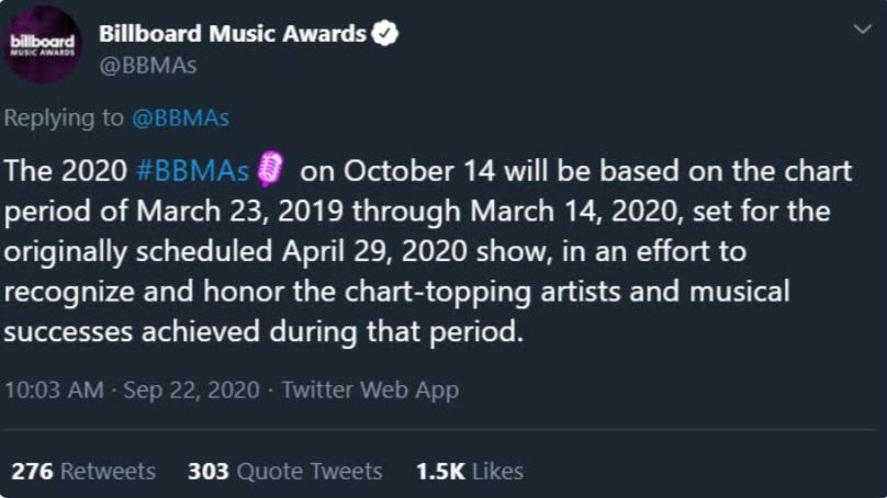 BTS, Billboard, BBMA, Billboard 2020, BBMA 2020, Billboard BTS, BBMA BTS, Billboard BTS 2020, BBMA bTS 2020, BTS tour diễn, BTS đề cử Billboard, BTS Billboard đề cử