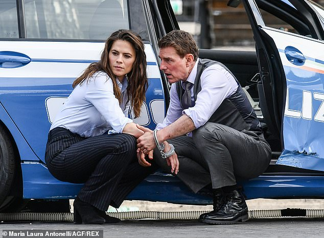 Tom Cruise, Mission impossible, Mission impossible 7, Điệp vụ bất khả thi, Điệp vụ bất khả thi 7, Tom Cruise Mission impossible, Tom Cruise dựng phim trường, covid