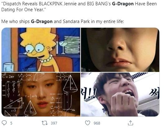 Jennie, Jennie Blackpink, Jennie Gdragon, Jennie Blackpink G dragon, Fan phản ứng Jennie Gdragon hẹn hò, fan ủng hộ Jennie Gdragon, fan phản đối Jennie Gdragon