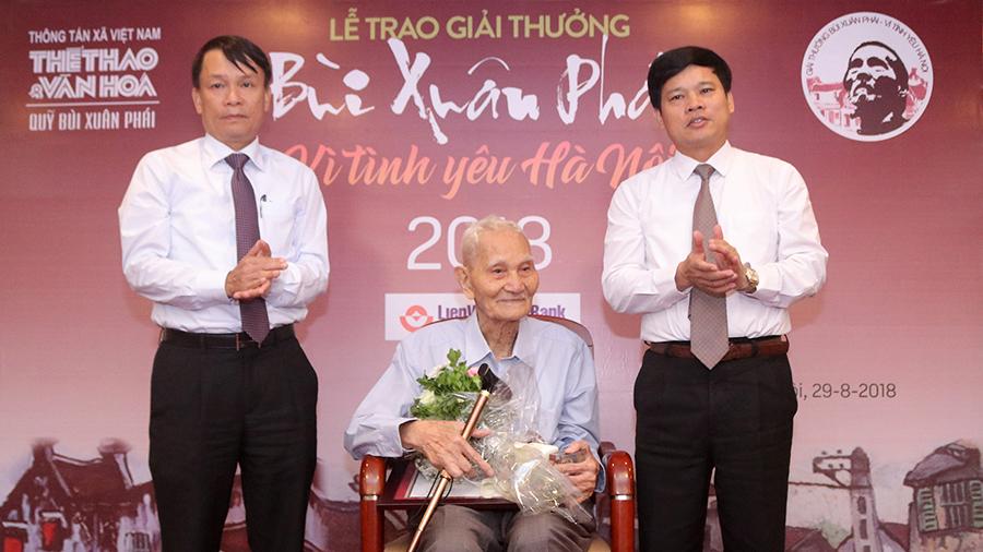 Nhà nghiên cứu Nguyễn Bá Đạm – 'Giải thưởng Lớn': Một tình yêu Hà Nội lặng thầm