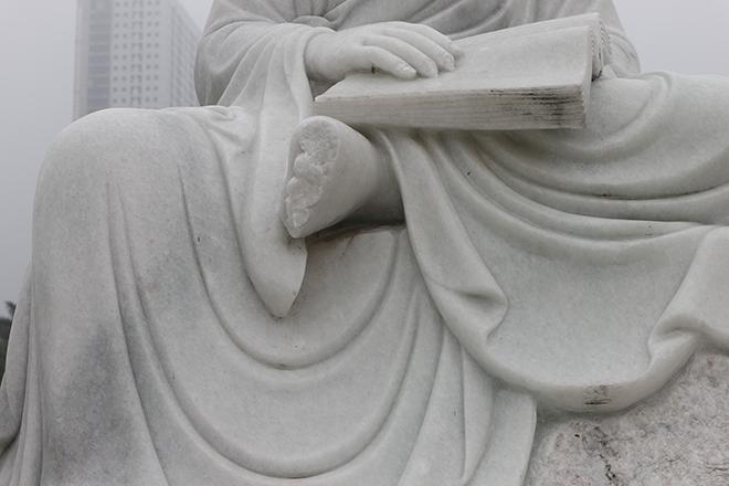 Tượng La Hán, La Hán, Tượng Phật, Chùa Khánh Long, Đông Anh, Đập tượng, phá tượng la hán, phá tượng phật, đập tượng la hán, chùa khánh long hà nội, chùa Đông Anh Hà Nội