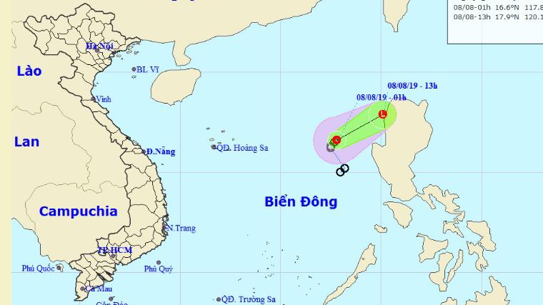 Dự báo thời tiết: Áp thấp nhiệt đới suy yếu, cả nước mưa dông