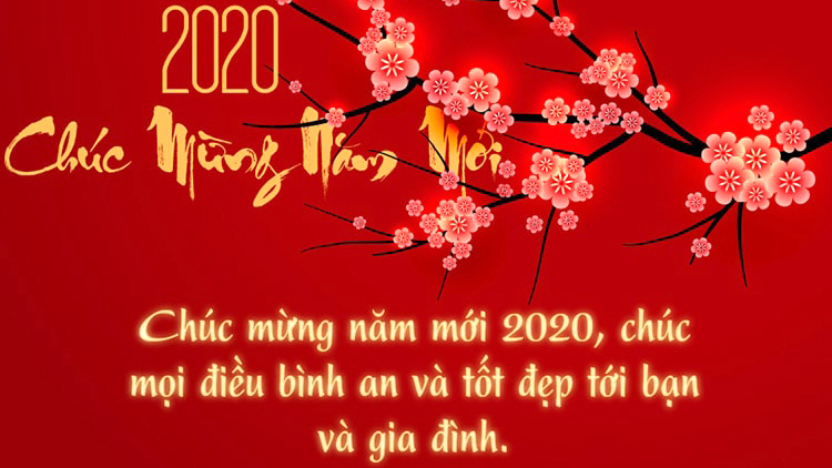 Lời chúc mừng năm mới 2020 hay và ý nghĩa nhất