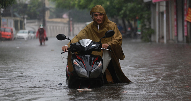 Dự báo thời tiết: Từ ngày 3-5/8, miền Bắc tiếp tục có mưa to