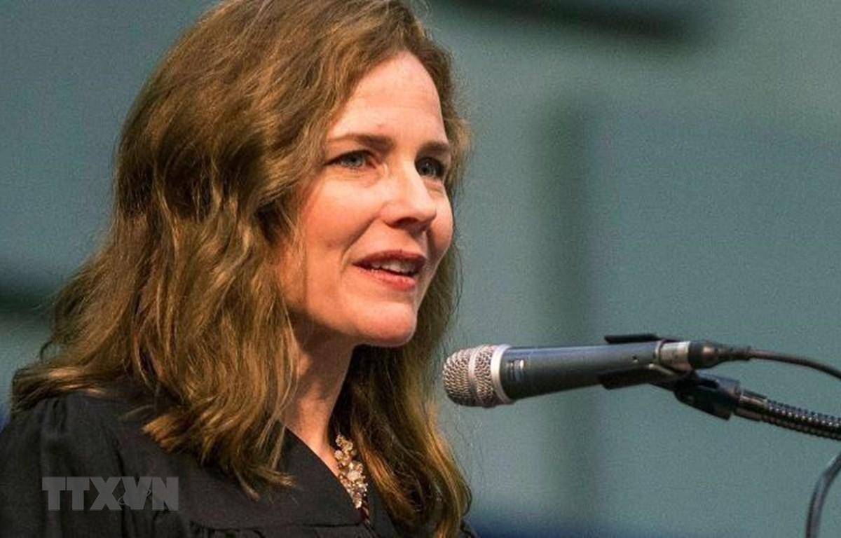 Tổng thống Trump chọn bà Amy Coney Barrett làm Thẩm phán Tòa án Tối cao Mỹ