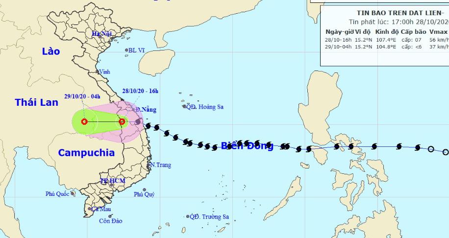 Tin áp thấp nhiệt đới suy yếu từ bão số 9: Cập nhật thiệt hại ban đầu
