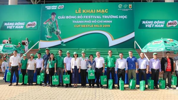 156 đội dự tranh giải bóng rổ Cúp MILO 2019