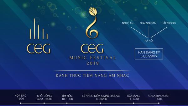CEG Music Festival 2019 mùa 5 - Đánh thức tiềm năng âm nhạc