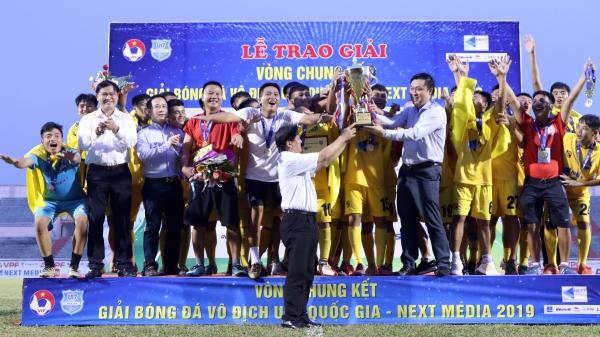 Thanh Hóa trở thành tân vương Giải vô địch U17 Quốc gia – Next Media 2019