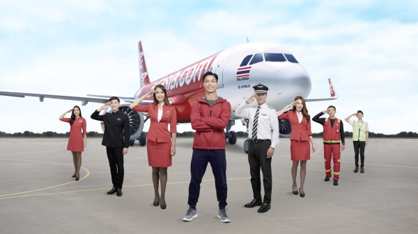 AirAsia giới thiệu Nguyễn Công Phượng là đại diện thương hiệu của hãng tại Việt Nam