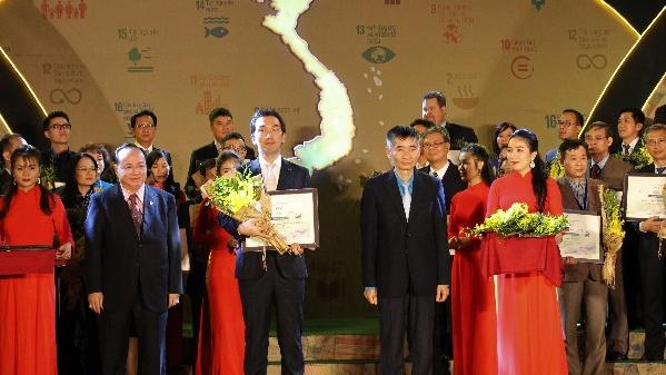 Bridgestone Việt Nam tiếp tục được vinh danh Top 100 doanh nghiệp phát triển bền vững