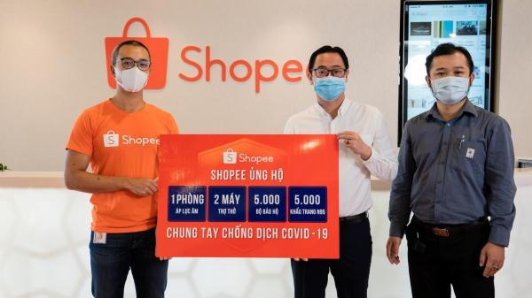 Shopee ủng hộ 3 tỷ chống COVID-19