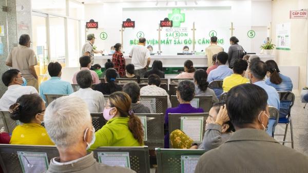 Bệnh viện Mắt Sài Gòn Cần Thơ khai trương Quầy tiếp nhận - thu ngân mới