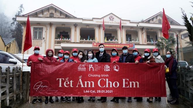 Generali Việt Nam triển khai thành công chương trình 'Tết Ấm Cho Em'