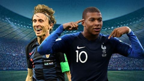 Ấn tượng World Cup: Mbappe hay Modric sẽ xuất sắc nhất?