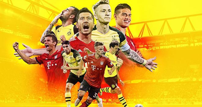 Ket qua bong da, Kết quả bóng đá, Dortmund vs Bayern, Bảng xếp hạng Bundesliga, kết quả bóng đá Đức, kết quả Bundesliga, kqbd, video Dortmund 0-1 Bayern, cuộc đua vô địch