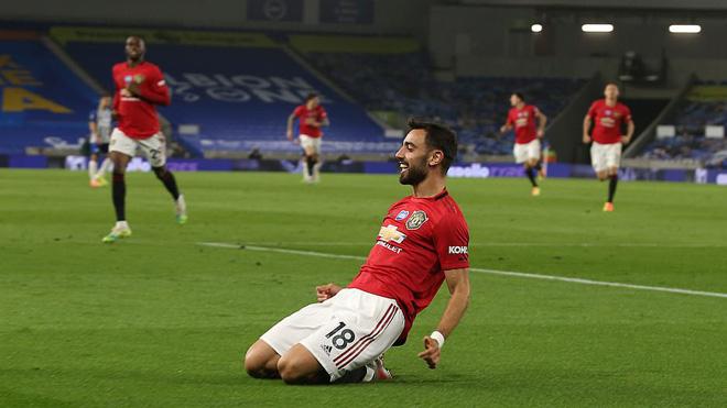 VIDEO bàn thắng Brighton 0-3 MU: Fernandes và Greenwood tỏa sáng