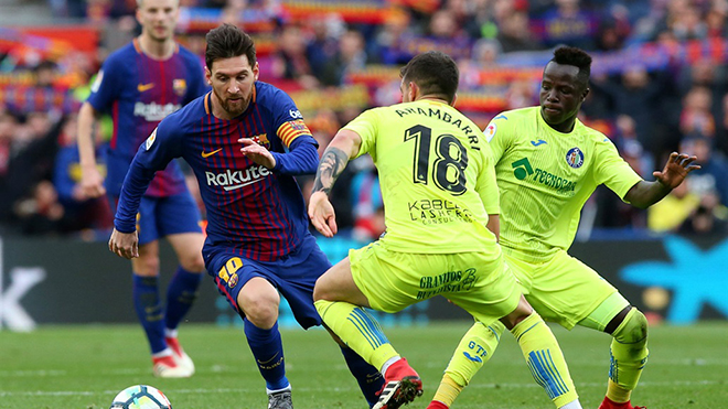 Link xem trực tiếp bóng đá Getafe vs Barcelona, Xem trực tiếp bóng đá Tây Ban Nha, Trực tiếp Getafe đấu với Barcelona, Xem bóng đá trực tuyến, Trực tiếp bóng đá La Liga