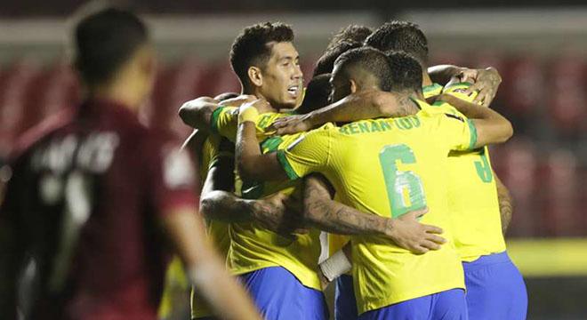 ket qua bong da, kết quả Brazil vs Venezuela, Brazil 1-0 Venezuela, Firmino, kết quả vòng loại World Cup 2022, truc tiep bong da hôm nay, trực tiếp bóng đá