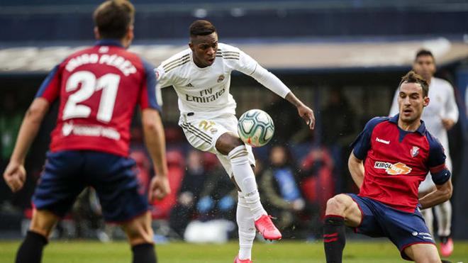 Link xem trực tiếp bóng đá Osasuna vs Real Madrid, BĐTV trực tiếp bóng đá Tây Ban Nha hôm nay, Xem bóng đá trực tuyến Osasuna đấu với Real Madrid, Bảng xếp hạng La Liga