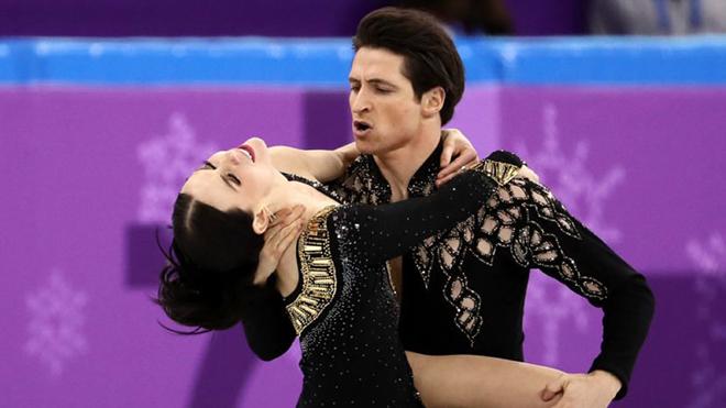 Cặp đôi trượt băng nghệ thuật hóa tư thế 'nhạy cảm' ở Olympic mùa Đông 2018