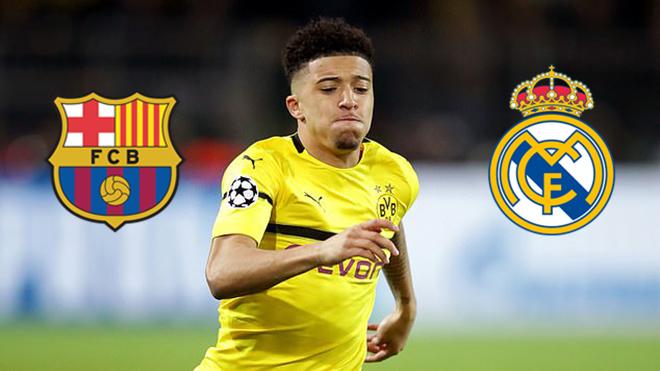 MU coi chừng: Real Madrid và Barcelona nhắm Sancho vào mùa Hè 2021