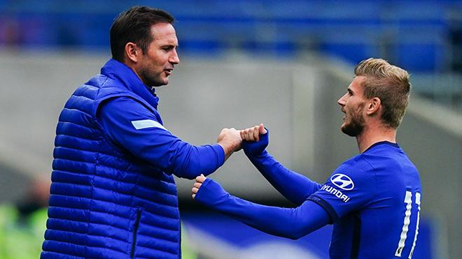 Timo Werner ghi bàn ngay ở trận ra mắt Chelsea