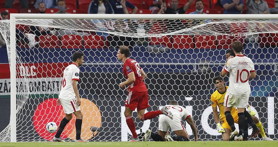 Kết quả bóng đá Siêu cúp châu Âu. Video clip bàn thắng Bayern Munich 2-1 Sevilla. Kết quảBayern Munich đấu với Sevilla. Bayern Munich giànhSiêu cúp châu Âu.