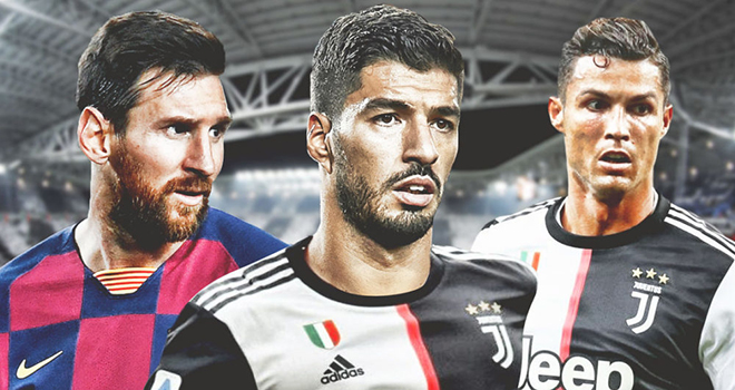 Chuyển nhượng Barcelona, Barcelona phải chi 22 triệu bảng để Suarez tới Juventus, Luis Suarez gia nhập Juventus, Luis Suarez, tương lai Luis Suarez, Messi, Ronaldo, Juve