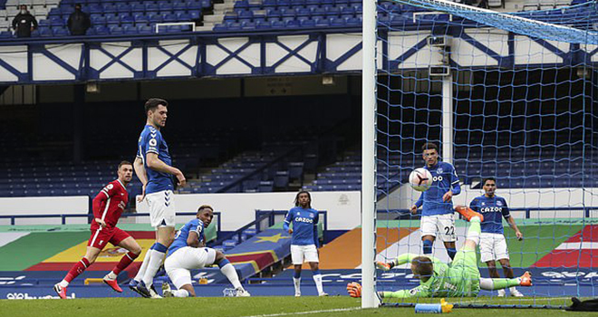 Everton 2-2 Liverpool, video clip bàn thắng Everton vs Liverpool, BXH bóng đá Anh, kết quả bóng đá Anh, kết quả bóng đá Ngoại hạng Anh, bảng xếp hạng Ngoại hạng Anh