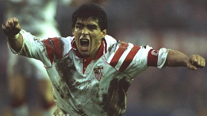 Diego Maradona và những năm tháng đáng quên trong sự nghiệp tại Sevilla