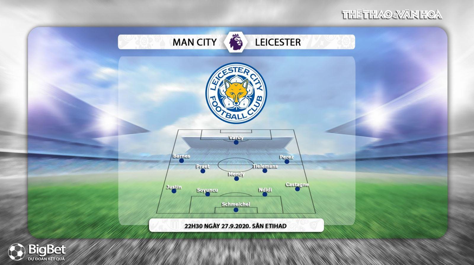 Keo nha cai, kèo nhà cái, Man City đấu với Leicester, Trực tiếp K+PM, Xem bóng đá trực tiếp Man City với Leicester, Trực tiếp vòng 3 Ngoại hạng Anh, Kèo bóng đá Man City