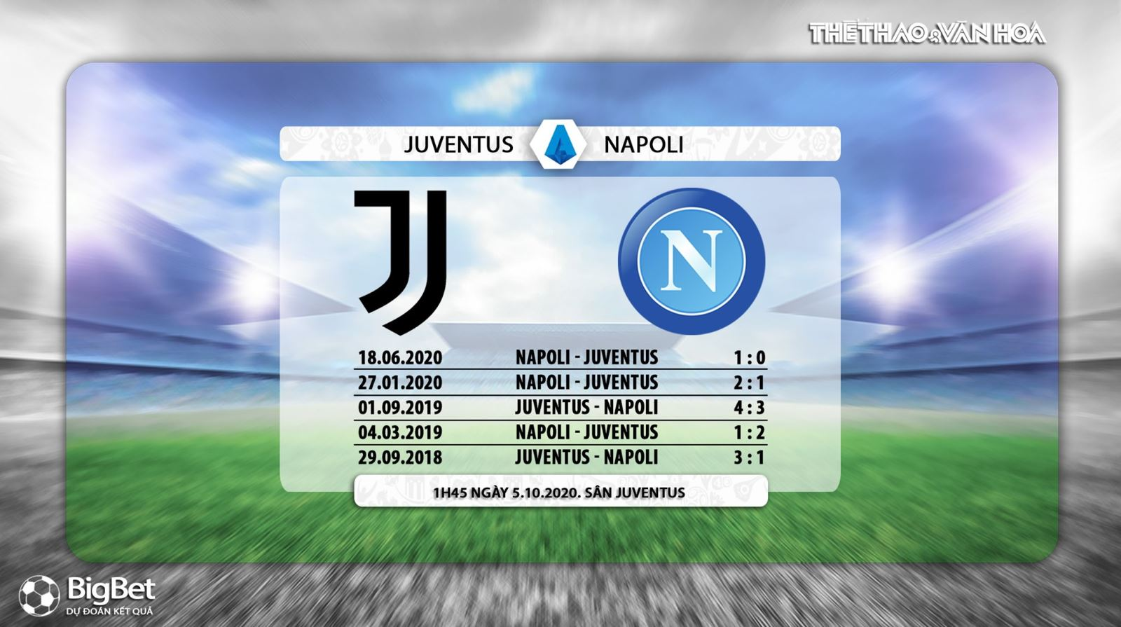 Keo nha cai, Kèo nhà cái, Juventus vs Napoli, Trực tiếp Vòng 3 Bóng đá Ý. Trực tiếp FPT Play, Kèo Juventus đấu với Napoli, Soi kèo Juventus, Kèo bóng đá Italia.
