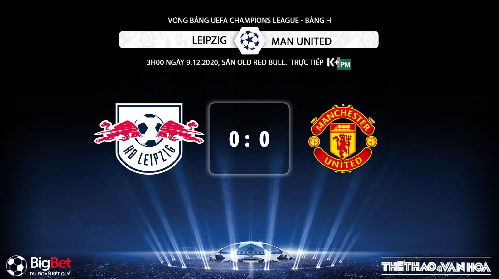 Keo nha cai, kèo nhà cái, Leipzig vs MU, Trực tiếp bóng đá, Cúp C1 châu Âu, soi kèo Leipzig đấu với MU, trực tiếp vòng bảng Champions League, kèo Manchester United