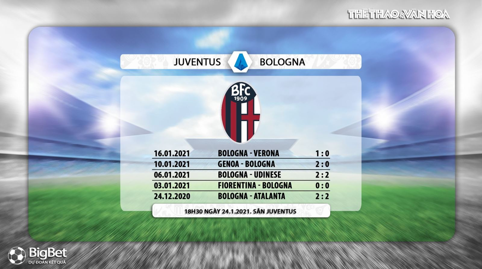 Trực tiếp bóng đá Ý hôm nay: Juventus vs Bologna. FPT Play trực tiếp Juventus