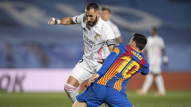 Real Madrid 2-1 Barcelona: Benzema và Kroos che mờ Messi