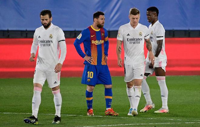 Kết quả Real Madrid Barcelona, BXH La Liga, Real phản công sắc bén, Messi cô đơn, Kết quả bóng đá, Kết quả La Liga, video Real Madrid Barcelona, cuộc đua vô địch La Liga