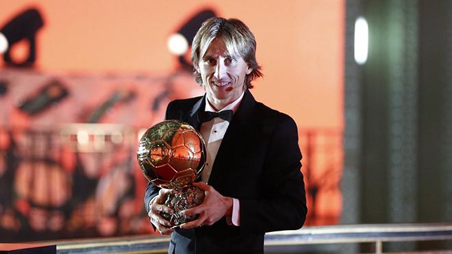 Luka Modric giành Quả bóng Vàng 2018, Ronaldo về nhì, Messi chỉ đứng thứ 5