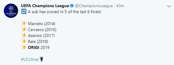Liverpool 2-0 Tottenham, kết quả Liverpool Tottenham, kết quả chung kết Cúp C1, kết quả cúp C1, video clip Liverpool vs Tottenham, Origi, quả bóng vàng, ket qua bong da