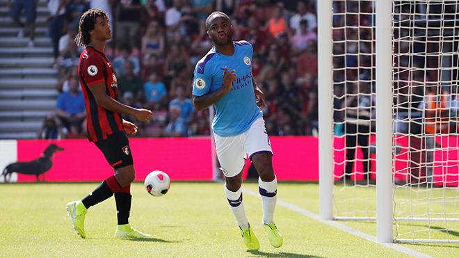 bong da, ket qua bong da, kết quả bóng đá ngoại hạng anh, ket qua bong da Anh, Bournemouth 1-3 Man City, kết quả Bournemouth đấu với Man City, trực tiếp bóng đá