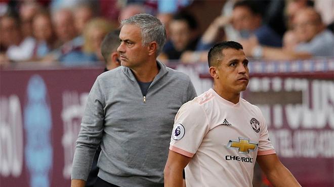 Jose Mourinho: 'Alexis Sanchez là một người buồn bã ở MU'