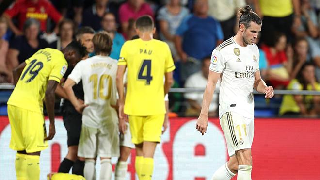 Bong da, bóng đá, bóng đá hôm nay, Villarreal vs Real Madrid, Villarreal vs Real, Video Villarreal 2-2 Real Madrid, video Villarreal 2-2 Real, Gareth Bale, cú đúp, thẻ đỏ