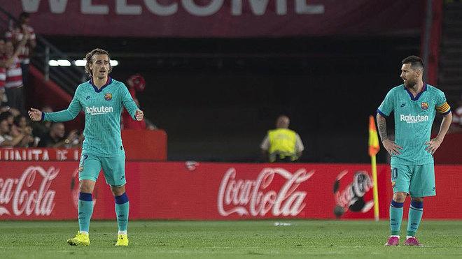 Bong da, bóng đá, ket qua bong da, kết quả bóng đá, Kết quả Granada vs Barcelona, Granada vs Barca, Granada 2-0 Barcelona, Messi, Barcelona, Barca, bxh Tây Ban Nha, kqbd