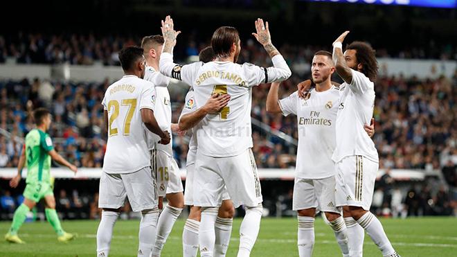 ket qua bong da hôm nay, ket qua bong da, kết quả bóng đá, Real Madrid 5-0 Leganes, kết quả Real Madrid Leganes, La Liga, lich thi dau bong da hôm nay, bong da hom nay