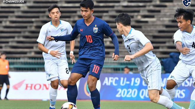 truc tiep bong da hôm nay, trực tiếp bóng đá, truc tiep bong da, bong da hom nay, bóng đá, vòng loại U19 châu Á, U19 châu Á, U19 Thái Lan, U19 Thái Lan thắng đậm